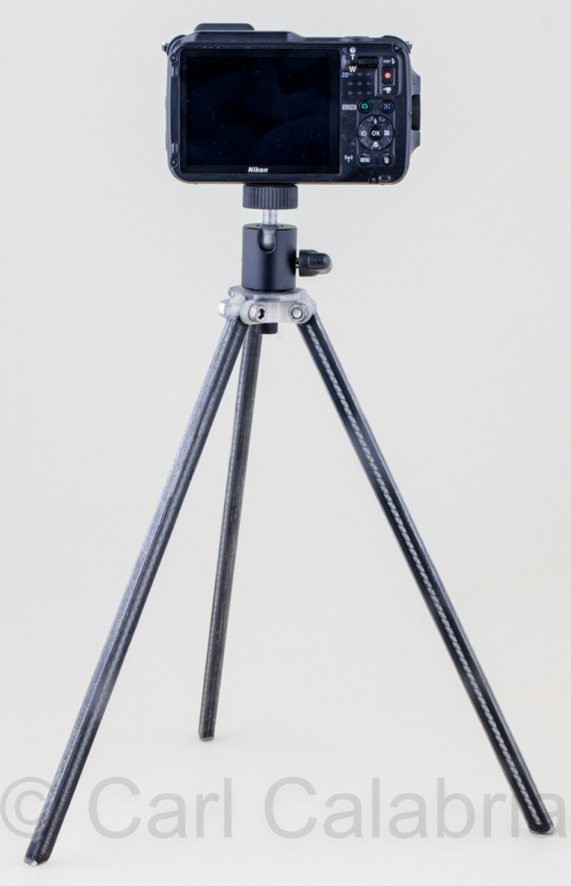 Part Of The Week 3d Printed Tripod With Continuous Carbon Fiber