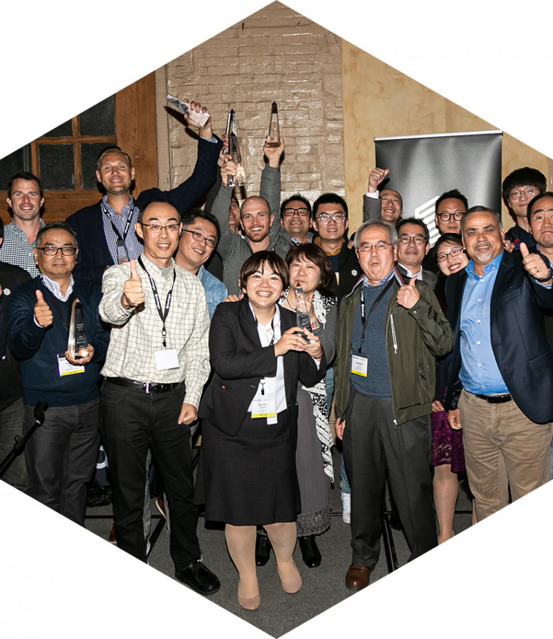 Group photo of our Asia Pacific team