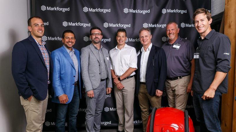 Markforged sales team photo
